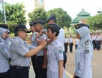 Penyematan Taruna Angkatan 2014