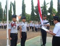 Pelantikan dan Serah Terima Jabatan Komandan Resimen STMKG Periode 2016/2017