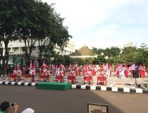 Persembahan Marching Band Bahana STMKG dalam Memeriahkan HUT BMKG ke 69