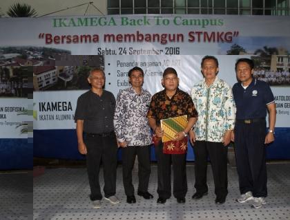 """IKAMEGA  Back to Campus: """"Bersama Membangun STMKG"""""""