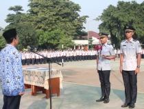 Peringatan Hari Kebangkitan Nasional Ke- 109 dan Sertijab Komandan Resimen Korps Taruna STMKG Periode 2017/2018