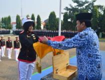 UPACARA PERINGATAN HARI KEMERDEKAAN REPUBLIK INDONESIA KE-72