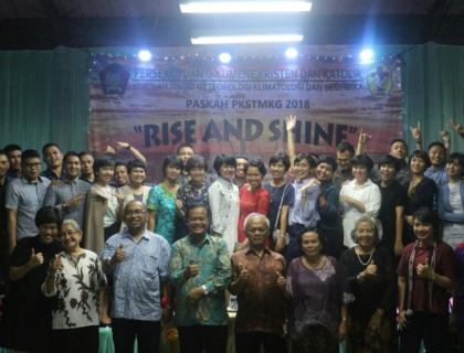 Persekutuan Kristen STMKG Rayakan Kebangkitan Kristus