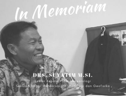 In Memoriam: Drs. Suyatim M.Si.