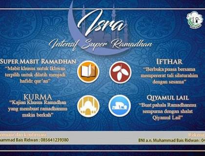 Rohis STMKG Siap Menyambut Bulan Suci Ramadhan 1439 H