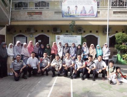 Sosialisasi Kegempaan Oleh Ikatan Taruna Geofisika bersama Sekolah Islam Terpadu Cordova