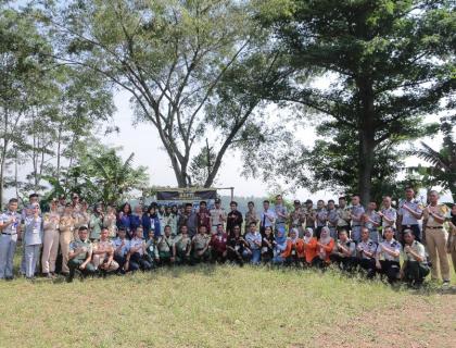 Mengamalkan Tridharma Perguruan Tinggi, STMKG Berperan dalam Bakti FMKI di Desa Cihampelas