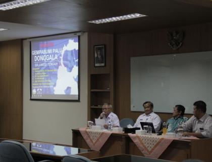 Diskusi BMKG dan STMKG Terkait Gempa Bumi dan Tsunami di Palu – Donggala