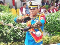 MARCHING BAND BAHANA STMKG MEMERIAHKAN PENUTUPAN HMKG NASIONAL KE-72 TAHUN 2019