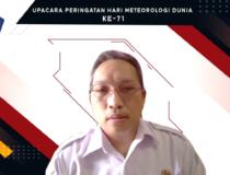 Upacara Peringatan Hari Meteorologi Dunia (HMD) Ke-71