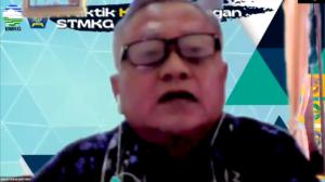 Penutupan Praktik Kerja Lapangan (PKL) STMKG 2021 oleh Pembantu Ketua II STMKG Bapak Drs. Hendri Subakti, S.Si, M.Si.