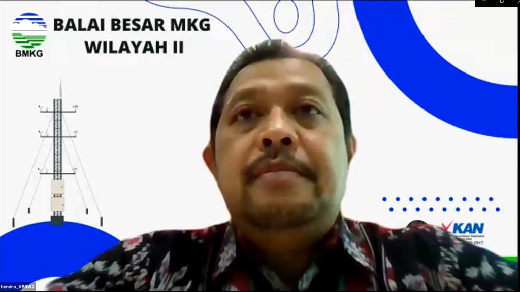 Penyampaian Kesan dan Pesan oleh Kepala Balai Besar MKG Wilayah II Ciputat Bapak Hendro Nugroho,ST, M.Si.