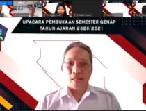 UPACARA DARING PEMBUKAAN SEMESTER GENAP TA 2020/2021