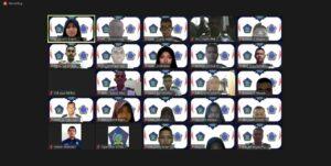 Dokumentasi acara pelantikan BPH dan anggota Demustar 2020/2021
