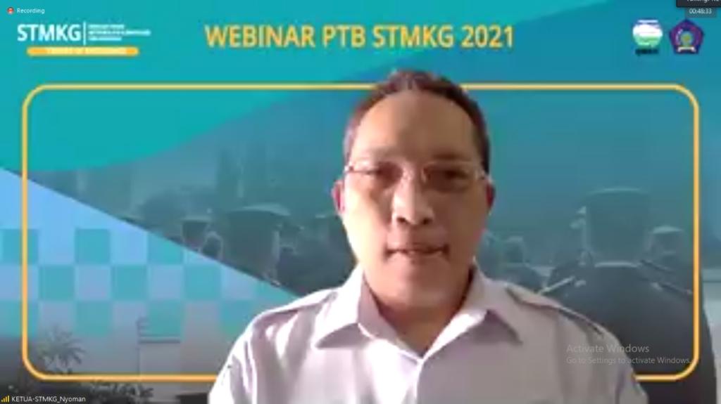 Pemberian kata sambutan oleh Ketua STMKG
