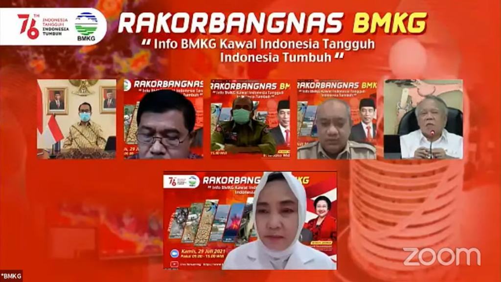 Talkshow Rakorbangnas BMKG 2021