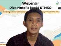 WEBINAR DIES NATALIS KE-66 STMKG TAHUN 2021